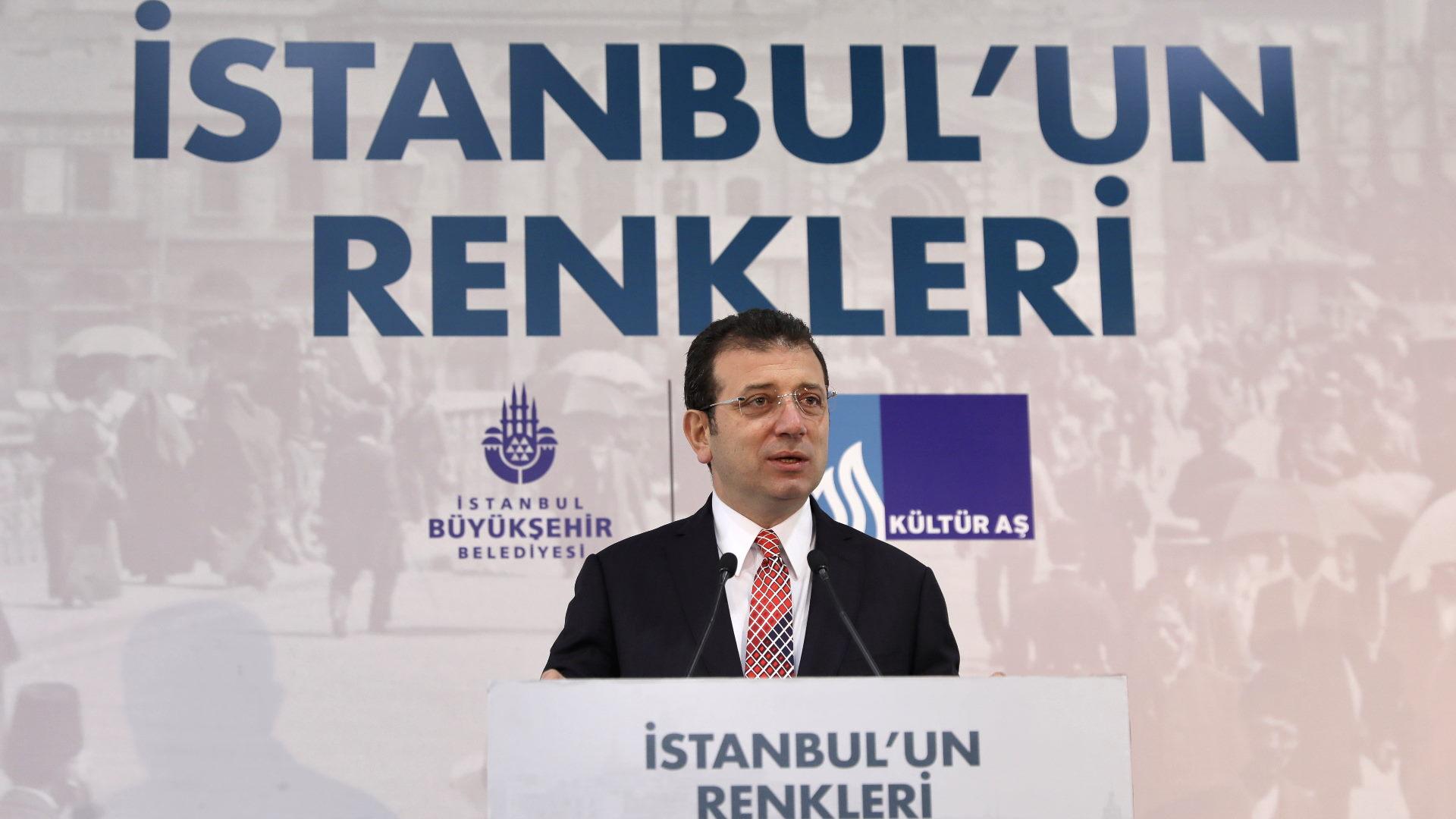 """İmamoğlu: """"İstanbul'un Renkleri"""" bütün duyguları bir araya getiriyor"""