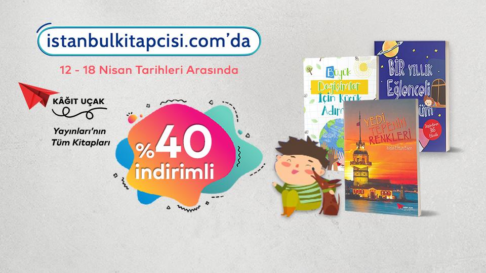 Kağıt Uçak Yayınları, www.istanbulkitapcisi.com'da %40 indirimde!