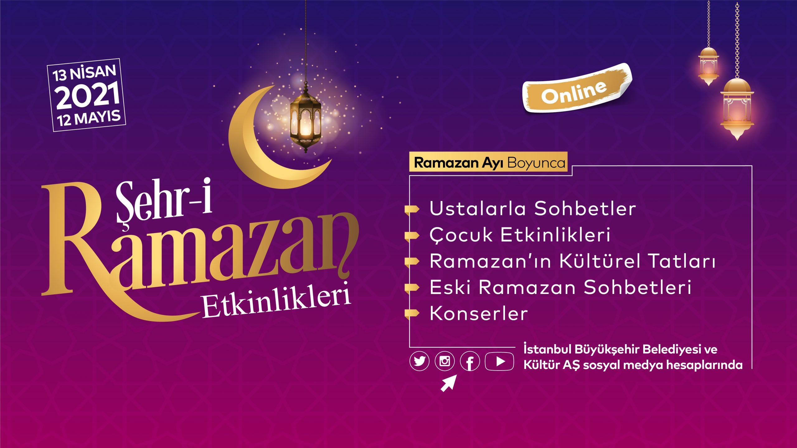 İBB'den Ramazan etkinlikleri