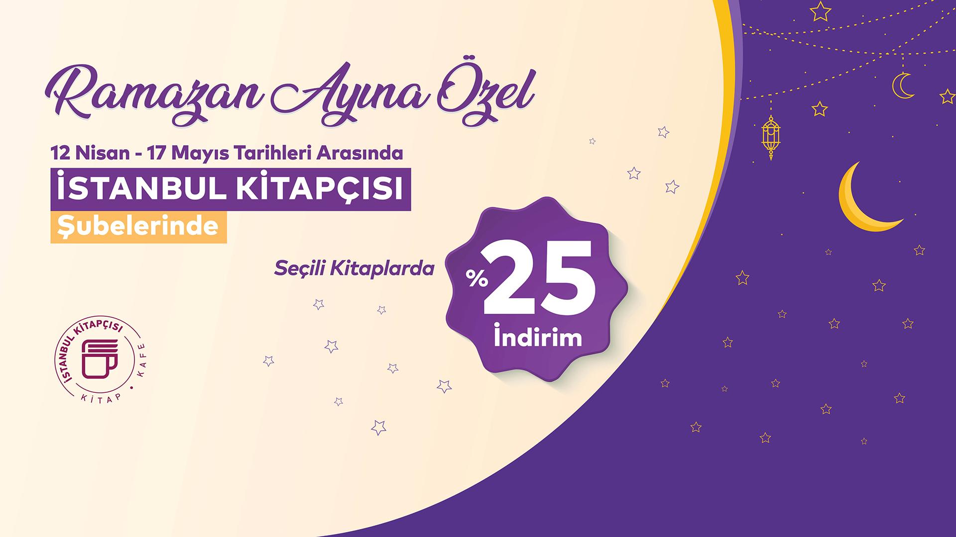 İstanbul Kitapçısı'ndan Ramazan ayına özel kampanya!