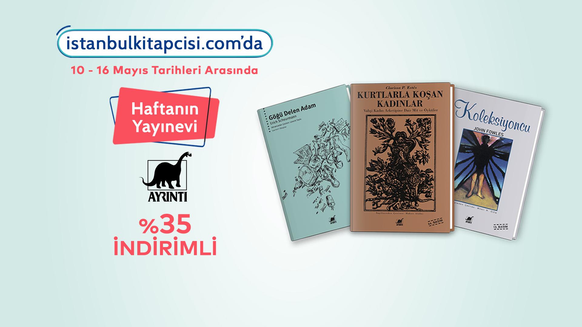 Ayrıntı Yayınları'nın tüm kitapları, www.istanbulkitapcisi.com'da %35 indirimde!