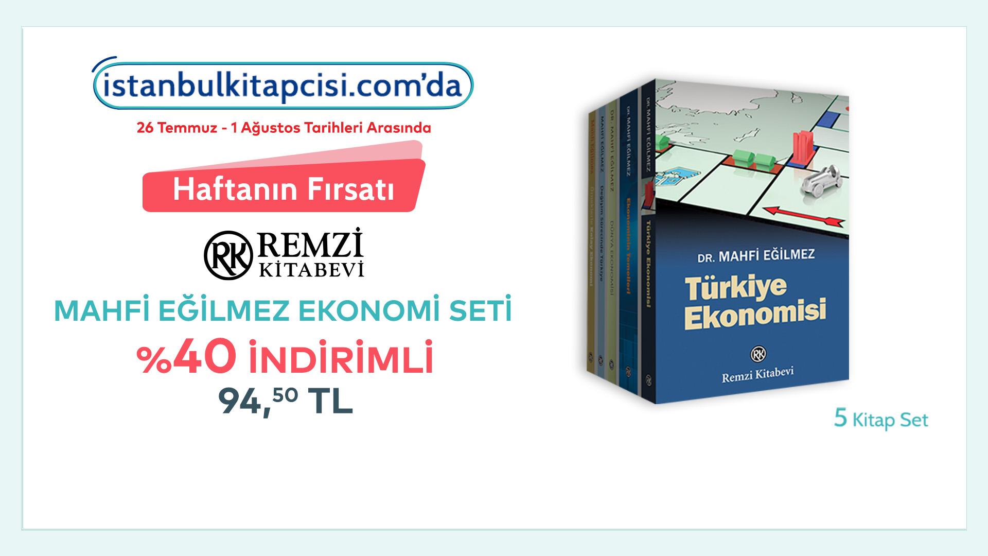 Mahfi Eğilmez Ekonomi Seti, www.istanbulkitapcisi.com'da indirimde!