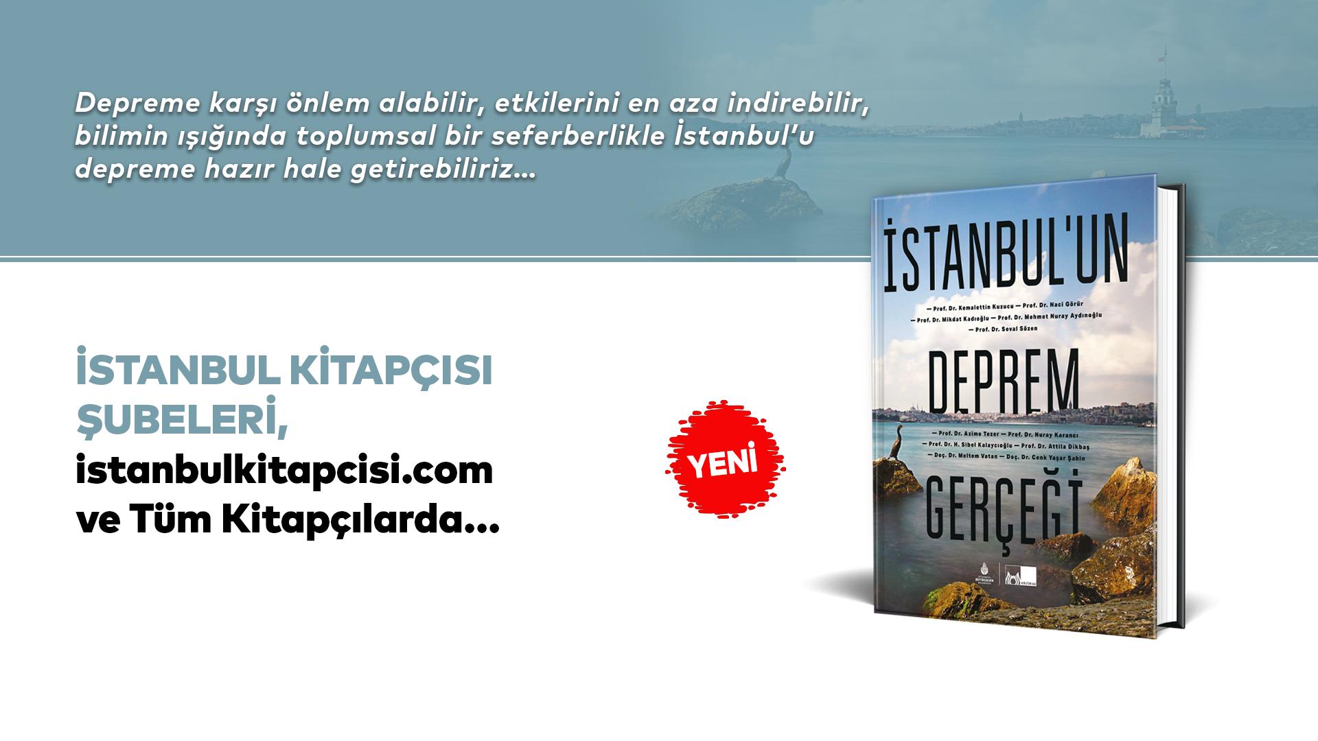 """Beklenen İstanbul depremiyle ilgili merak edilen tüm soruların yanıtları; """"İstanbul'un Deprem Gerçeği""""nde"""