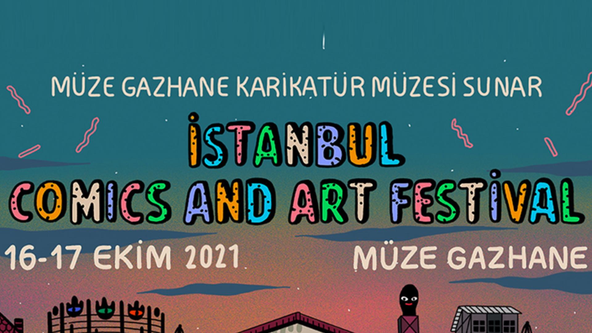 Müze Gazhane: İstanbul Comics and Art Festival başlıyor!